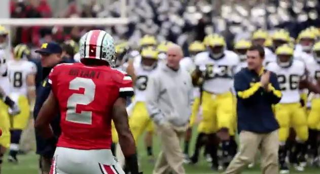 I wasn't that excited for OSU-Michigan. This trailer changed that.