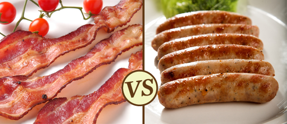 The Great Bacon vs. Sausage Debate is finally settled