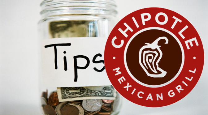 Poll: Do you tip at Chipotle? Or is this the most egregious question ever?
