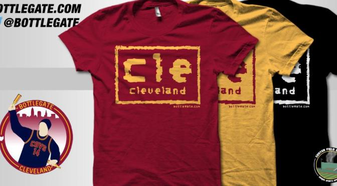 """Say hello to the bad guys. Cleveland """"nWo"""" shirts now available for purchase"""