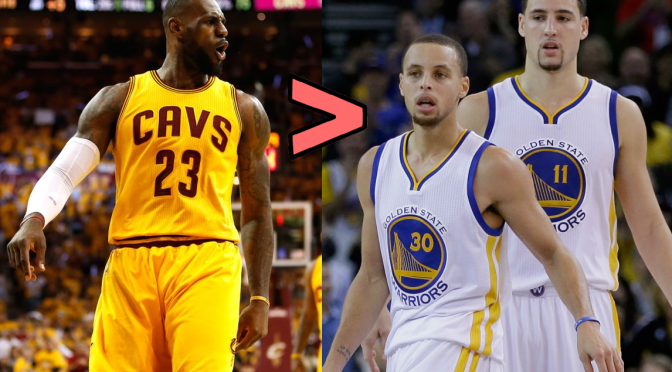 Bottlegate's NBA Finals preview; I'd rather have one King than two Splash Brothers