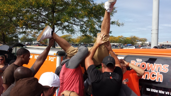 Muni Lot Madness; Your Browns-Raiders Muni Lot Photo Gallery (Week 2)