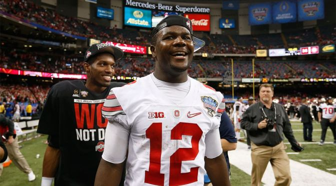 Cardale Jones Was Rushed To The ER Last Night For Migraines
