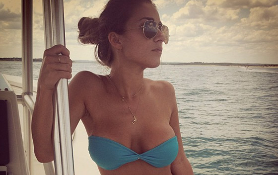 Here Are 38 Pictures Of NY Jets Wide Receiver Eric Decker's Wife Jesse James Decker