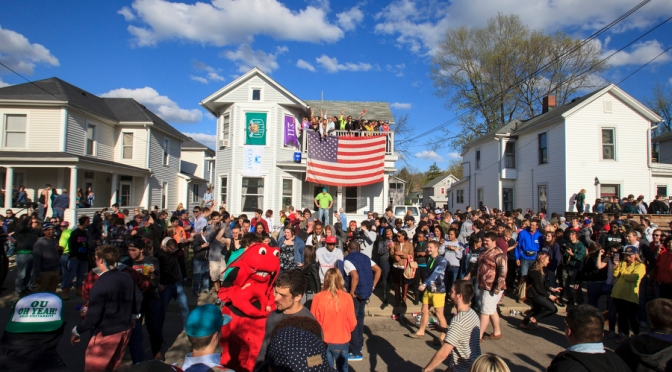 OU Oh Yeah; Ohio University Tops Playboy's List As Top Party School Of 2015