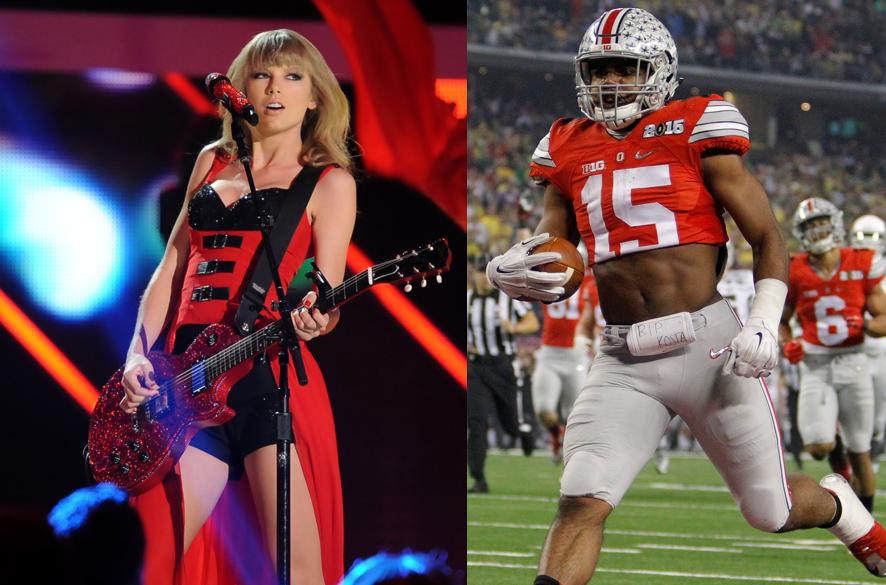 Taylor Swift dating quarterback