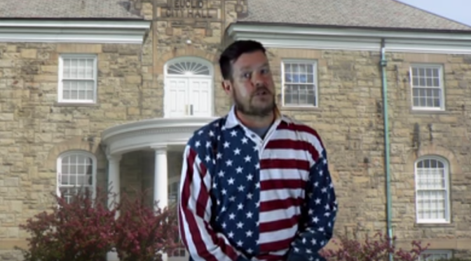 Chuck Booms Stars In A Euclid Mayoral Campaign Video… AND LOOK AT HIS SHIRT!!!