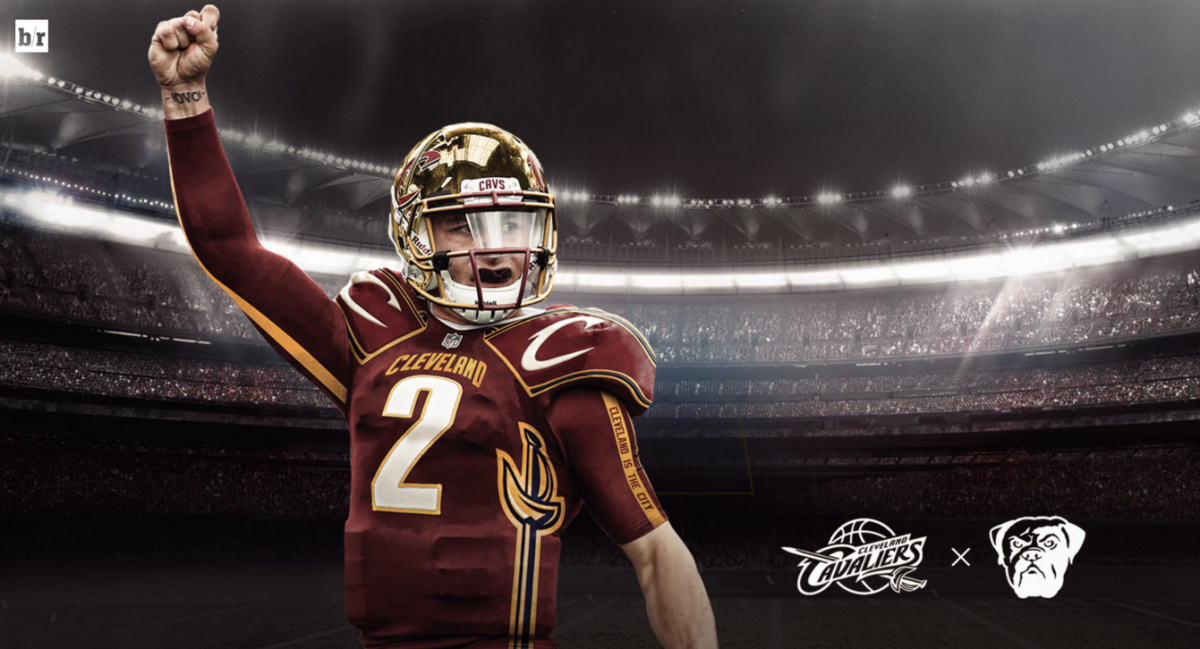 The Re Imagined Cavs Football Jersey Is Pretty Badass