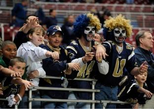 2009 St. Louis Rams Fans