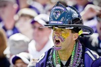 """Ravens super fan Charles """"Chip"""" Riley. // photo supplied by Chip Riley"""