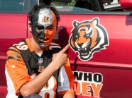 The Cincinnati Bengals played their first preseason game in 2015 at home against the New York Giants on Friday, Aug. 14. Anthony Schulte of Price Hill.