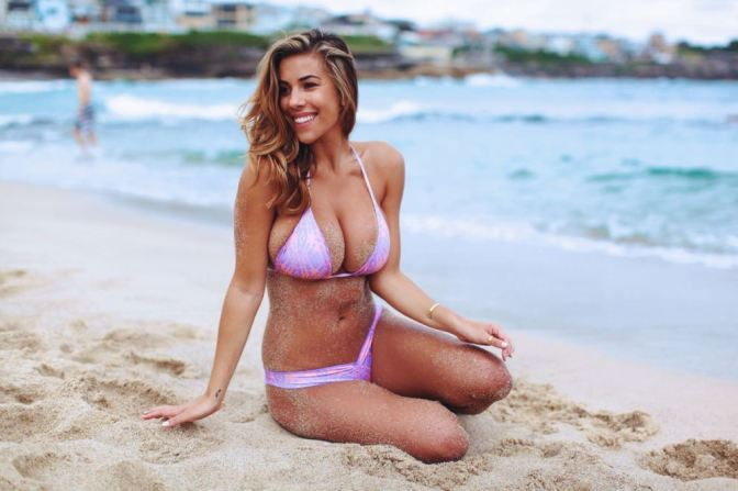 Here Are 44 Pictures Of Ex-Bengals WR Greg Little's Ex Girlfriend Devin Brugman