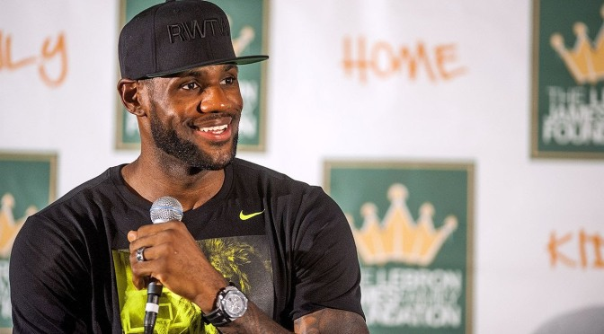 LeBron Sends Letter & Package To An Indiana Teen Battling Duchenne Muscular Dystrophy