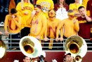 U of M fans during the fourth quarter of the Minnesota Gophers football game against the Nebraska Cornhuskers on Saturday, October 22, 2011 at TCF Bank Stadium in Minneapolis. (Pioneer Press: Sherri LaRose-Chiglo)