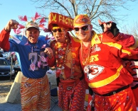 Oct 31, 2011; Kansas City, MO, USA; Kansas City Chiefs fans tailgate before the monday night football game against the San Diego Chargers at Arrowhead Stadium. Mandatory Credit: Denny Medley-USA TODAY Sports