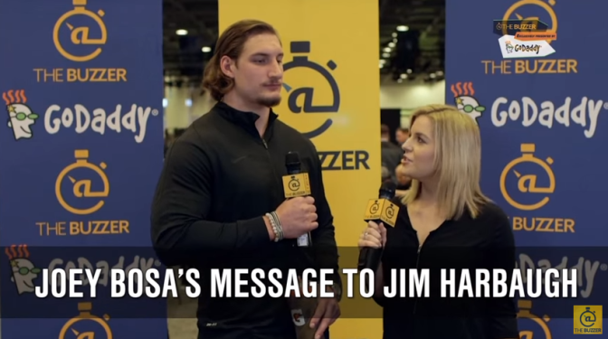 """Joey Bosa has a message for Jim Harbaugh… """"Sorry"""""""
