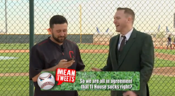 Second (annual?) Cleveland Indians Mean Tweets