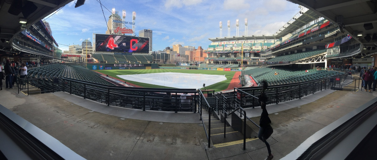 Taking a look at the new Infield District at Progressive Field