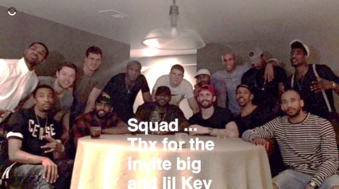 A Complete Breakdown Of The Cavs Dance Party At Kevin Love's House On Thursday Night