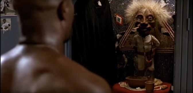 Jason Kipnis and Mike Napoli made a shrine to Jobu in the Indians locker room