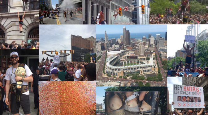 Game Tape: The Cleveland Cavaliers Championship Parade