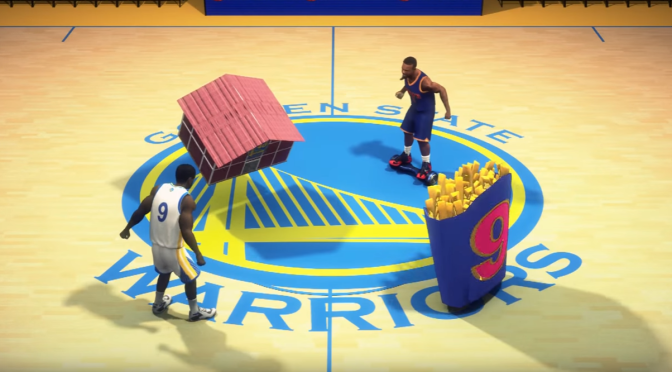 Those bizarre Taiwanese Animators are back with another NBA Finals preview