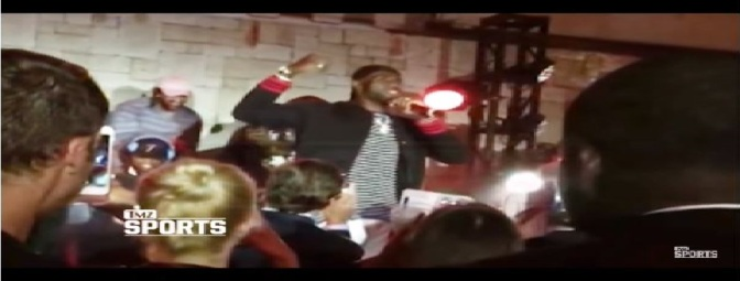 VIDEO: LeBron tells crowd at ESPYs after-party to dance or leave