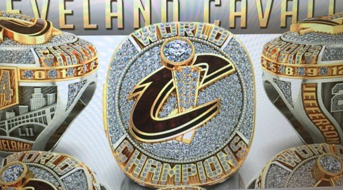 According To Richard Jefferson's Snapchat, Here's What The Cavs Championship Rings Look Like