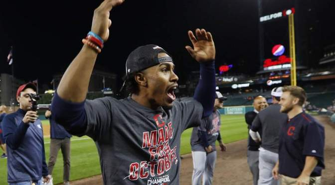 My barely coherent thoughts on the Indians clinching the AL Central last night
