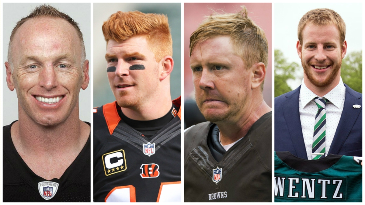 Red-headed quarterbacks continue to haunt the Cleveland Browns