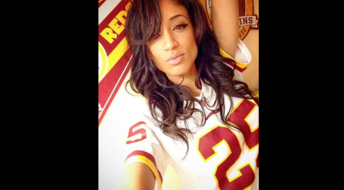 Washington Redskins Cheerleader & Fanbase Gallery