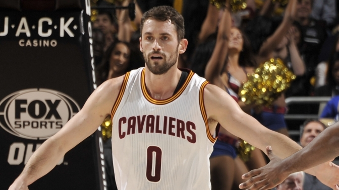 Kevin Love Was Incredible Last Night
